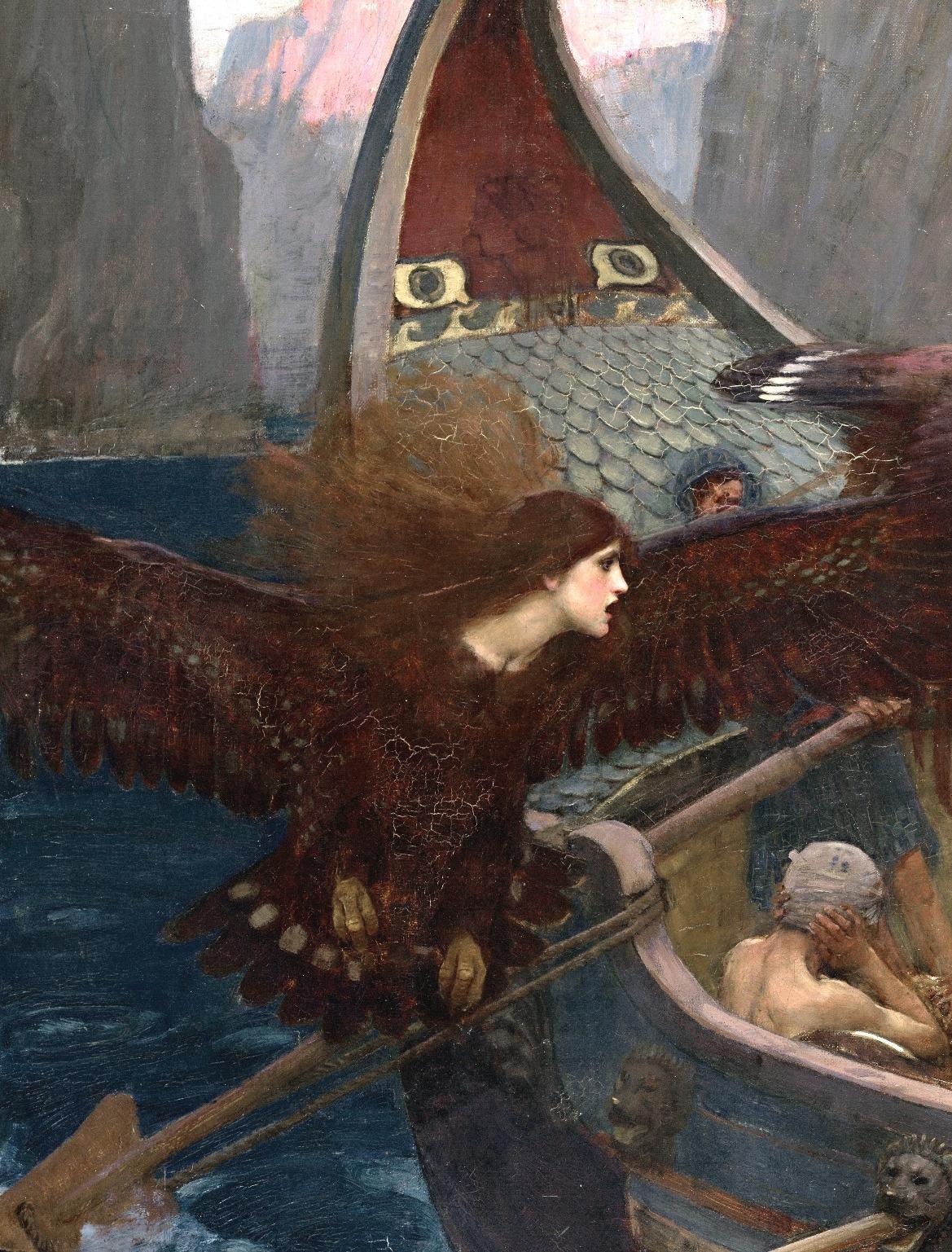 мифология сирены с картинками сложно найти
